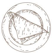 Dessin de crêpe